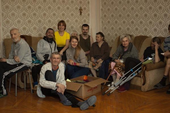 Большинство бездомныхв приюте «Дари добро» — пожилые люди