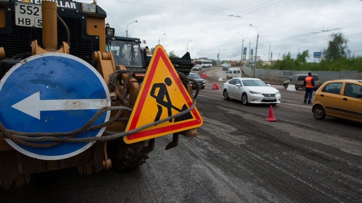 В Уфе из-за ремонта канализации перекроют улицу