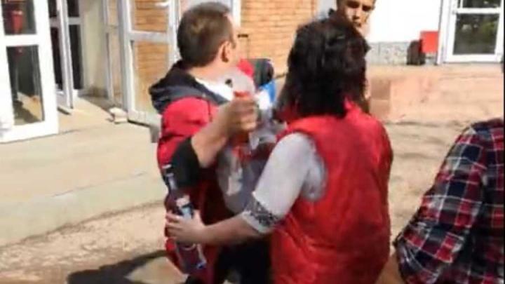 Расправа продавца магазина «Магнит» в Уфе над воришкой попала на видео