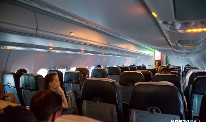 Вылетевший из Иркутска в Красноярск самолет вернулся обратно из-за трещины в стекле