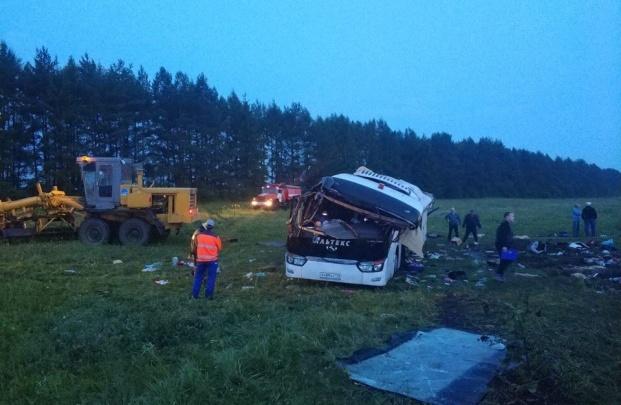 Водителя автобуса, который попал в ДТП в Архангельском районе, взяли под стражу