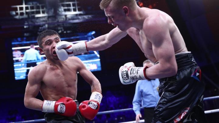 С кровью и потом: в Екатеринбурге прошёл вечер бокса