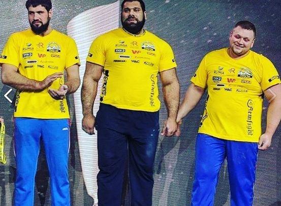 Двое красноярцев завоевали «бронзу» и «серебро» на Кубке мира по армрестлингу