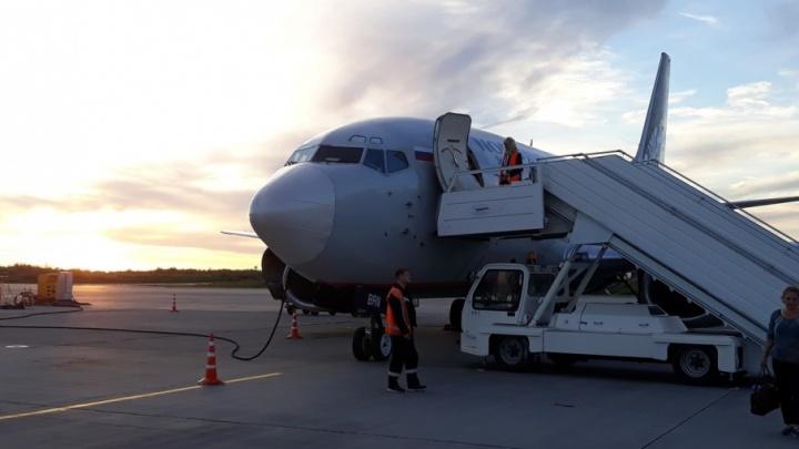 В архангельском аэропорту ремонтируют взлётно-посадочную полосу
