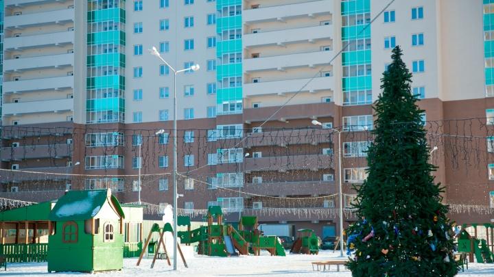 Праздник для всех: в грин-квартале на Юго-Западе уже чувствуется новогоднее настроение