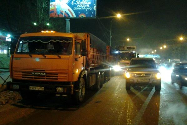 В аварии участвовали четыре машины