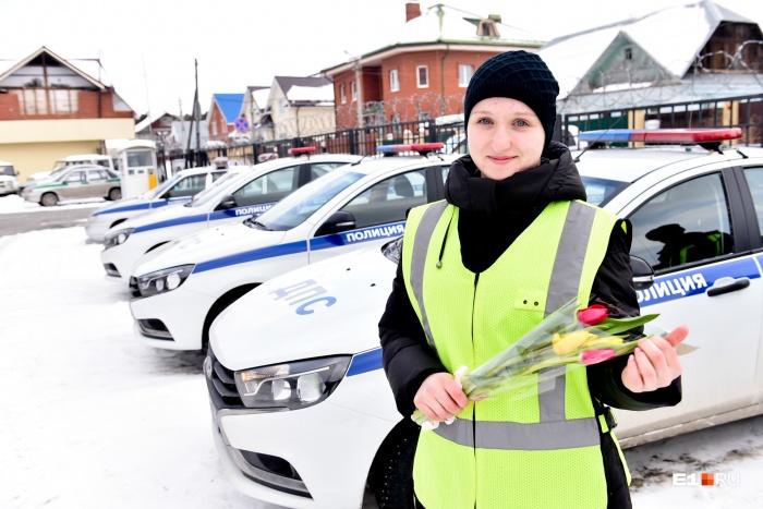 Эльвира по образованию учитель физкультуры, но внезапно решила пойти в дорожно-патрульную службу