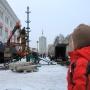 Из-за открытия новогодней ёлки часть улицы Поморской в Архангельске перекроют