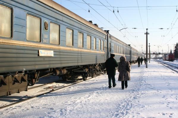 Состав резко затормозил уже на подъезде к Челябинску