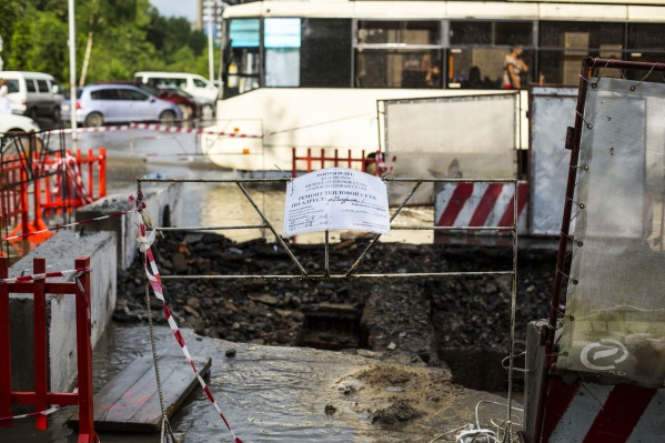 Дорога на Мичурина уже разрыта