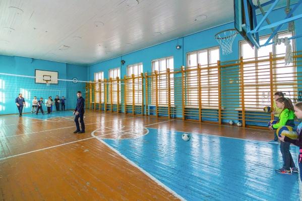 За три года в Зауралье отремонтируют 45 школьных спортзалов