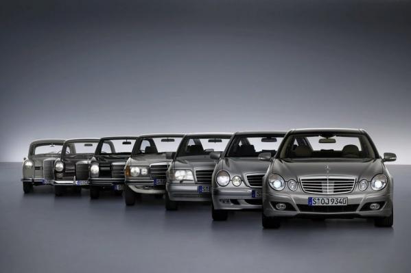Mercedes-Benz заслуживает место на заглавном снимке, потому что история автомобиля начинается с его прародителей
