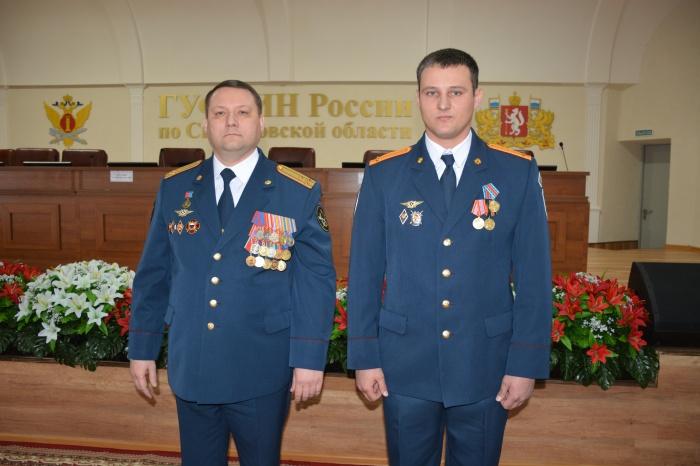 Медалью его наградилначальник ГУФСИН полковник Александр Федоров