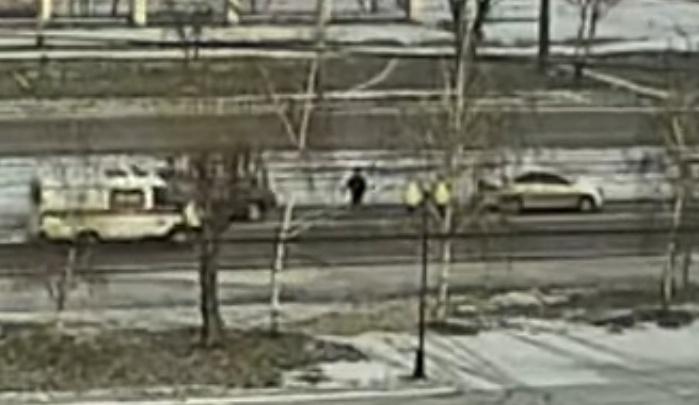 Летящая «скорая» сбила пешехода на Красрабе