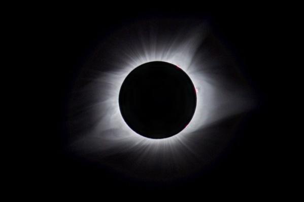 Полная фаза затмения в США 21 августа 2017 года
