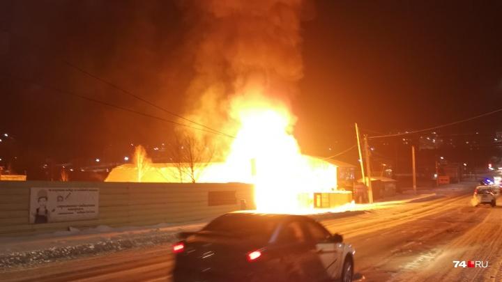 В Челябинской области взорвалась газовая заправка