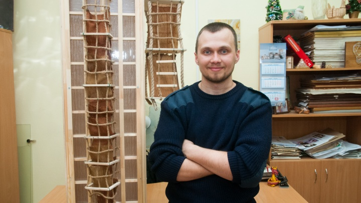 Выйти в окно и выжить: в Екатеринбурге придумали «горку», которая спасёт от пожаров в небоскрёбах