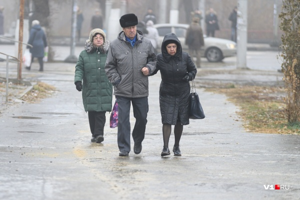 Туман и гололед захватили Волгоград в конце недели