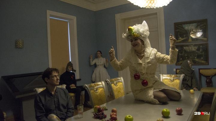 День театра без сцены: пановцы угостили публику сценическими блюдами и «поэтической бациллой»