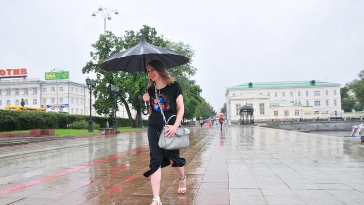 В Екатеринбурге сильную жару сменят грозы и дожди с градом