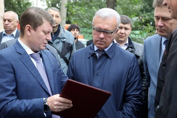 Александр Усс устроил разнос чиновникам мэрии