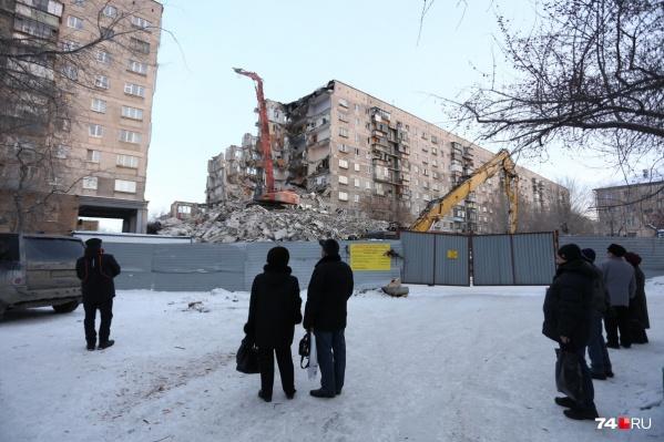 Работы по благоустройству места трагедии хотят начать в этом году
