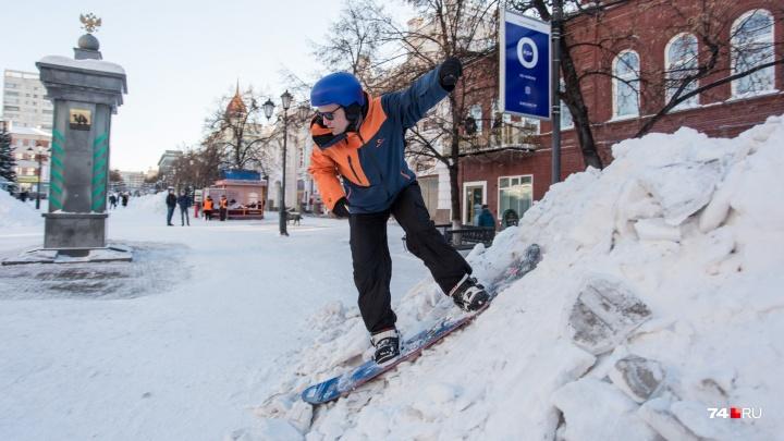 «Ощущаю себя киборгом»: челябинский сноубордист катается с инсулиновой помпой в животе