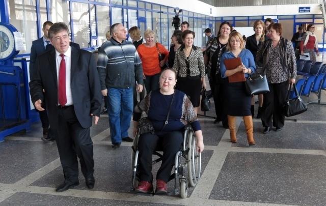В ходе капремонта в аэропорту Кургана обустроят два специальных лифта для инвалидов