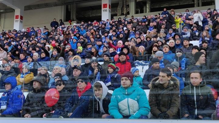 «Бьём антирекорды»: матч «Ротор» — «Шинник» посмотрели на «Волгоград Арене» 10 366 зрителей