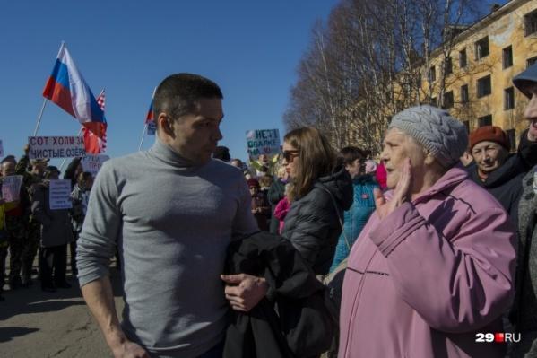 В апреле в Катунино уже проходили митинг и пикет