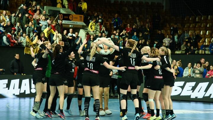 Ростовские гандболистки одержали победу над датчанками
