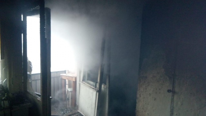 В Башкирии из-за пожара в жилом доме эвакуировали 200 человек