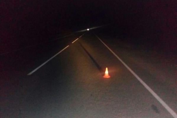 В момент аварии на трассе не было освещения