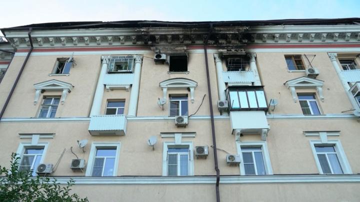В Ростове погорельцам из дома на 1-й Линии разрешили вернуться в квартиры