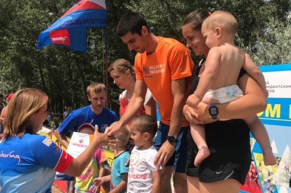 В прошлогодних соревнованиях волгоградцы принимали участие с совсем маленькими детьми