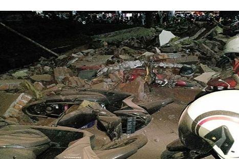 Землетрясение произошло вчера вечером на острове Ломбок в Индонезии
