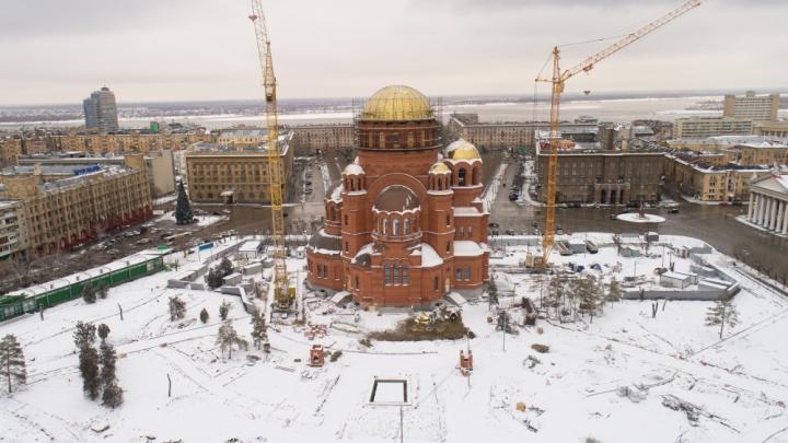 В центре Волгограда власти по-тихому переименовали парк Героев в Александровский сквер