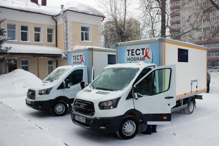 С помощью этих машин жители Новосибирской области смогут пройти экспресс-тесты для выявления ВИЧ и гепатита C