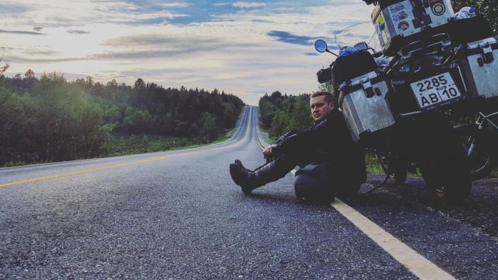 «Лучше быть чокнутым, чем жить впустую»: уфимец объехал 20 стран на байке