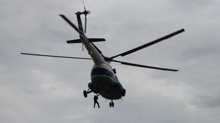 В Ненецком автономном округе совершил жёсткую посадку вертолёт Ми-8