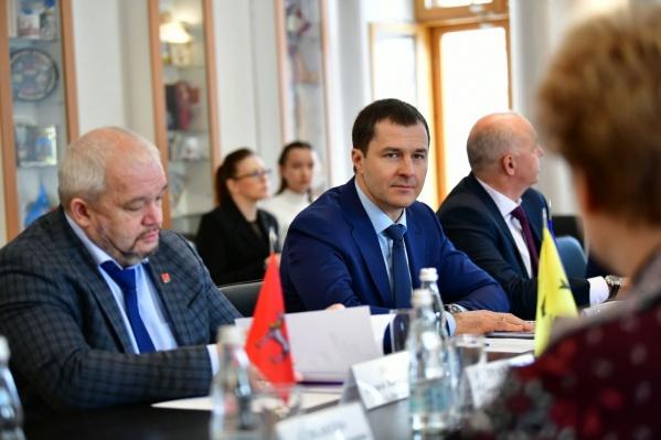 Мэр Волков стал президентом