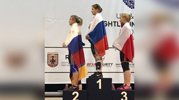 Спортсменка из Шадринска взяла бронзу на первенстве Европы в Косово