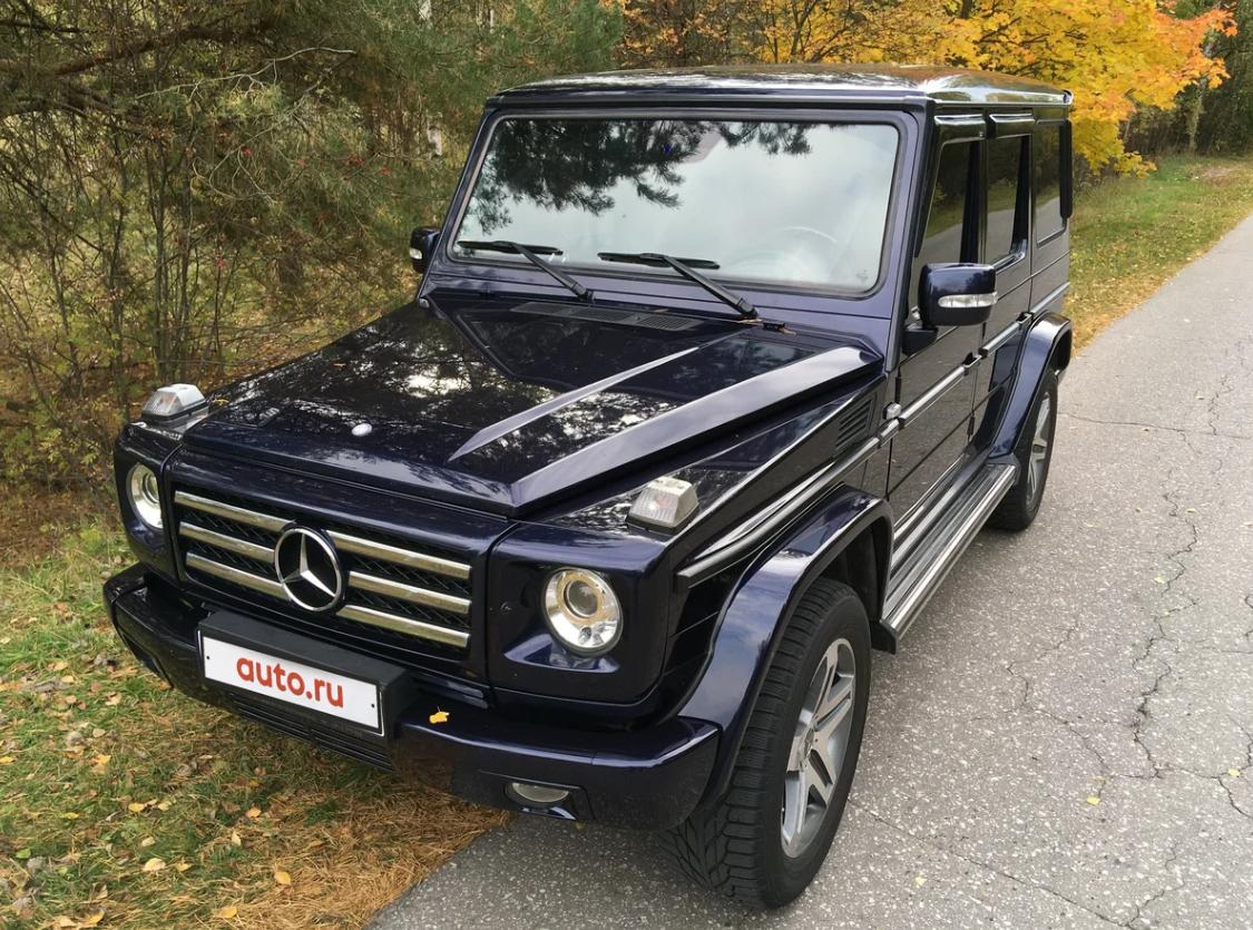 Mercedes-Benz Gelandewagen 2001 года выпуска выглядит как новый