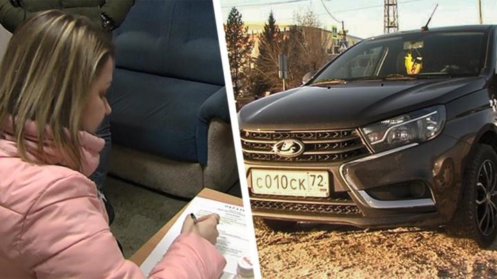 Неожиданная развязка истории с тюменским таксистом-наглецом, колесившим по «зебре»: авто было чужим