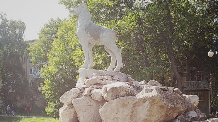 «Обломали рога»: в Самаре вандалы испортили непризнанный символ города