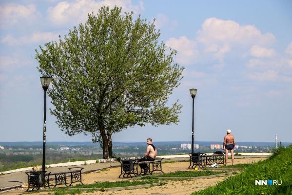 В Нижегородской области стоит аномальная жара