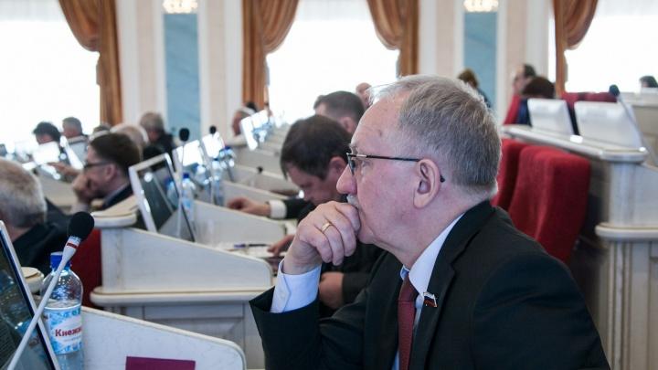 В областном собрании единороссы зарубили обсуждение вопроса о повышении пенсионного возраста