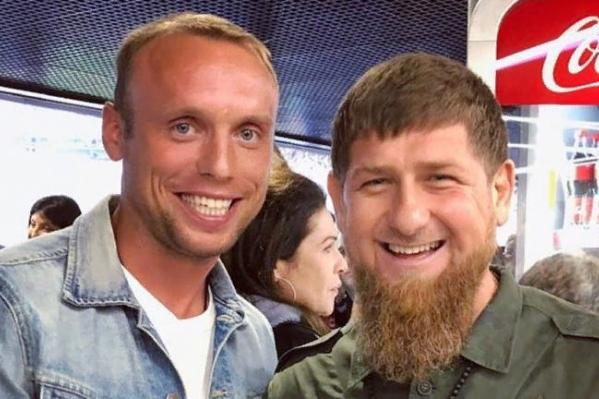 Рамзан Кадыров опубликовал в социальных сетях фотографию с Денисом Глушаковым