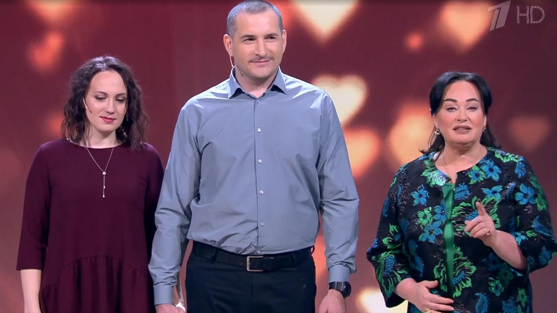 По итогам программы Наталья выбрала земляка Сергея