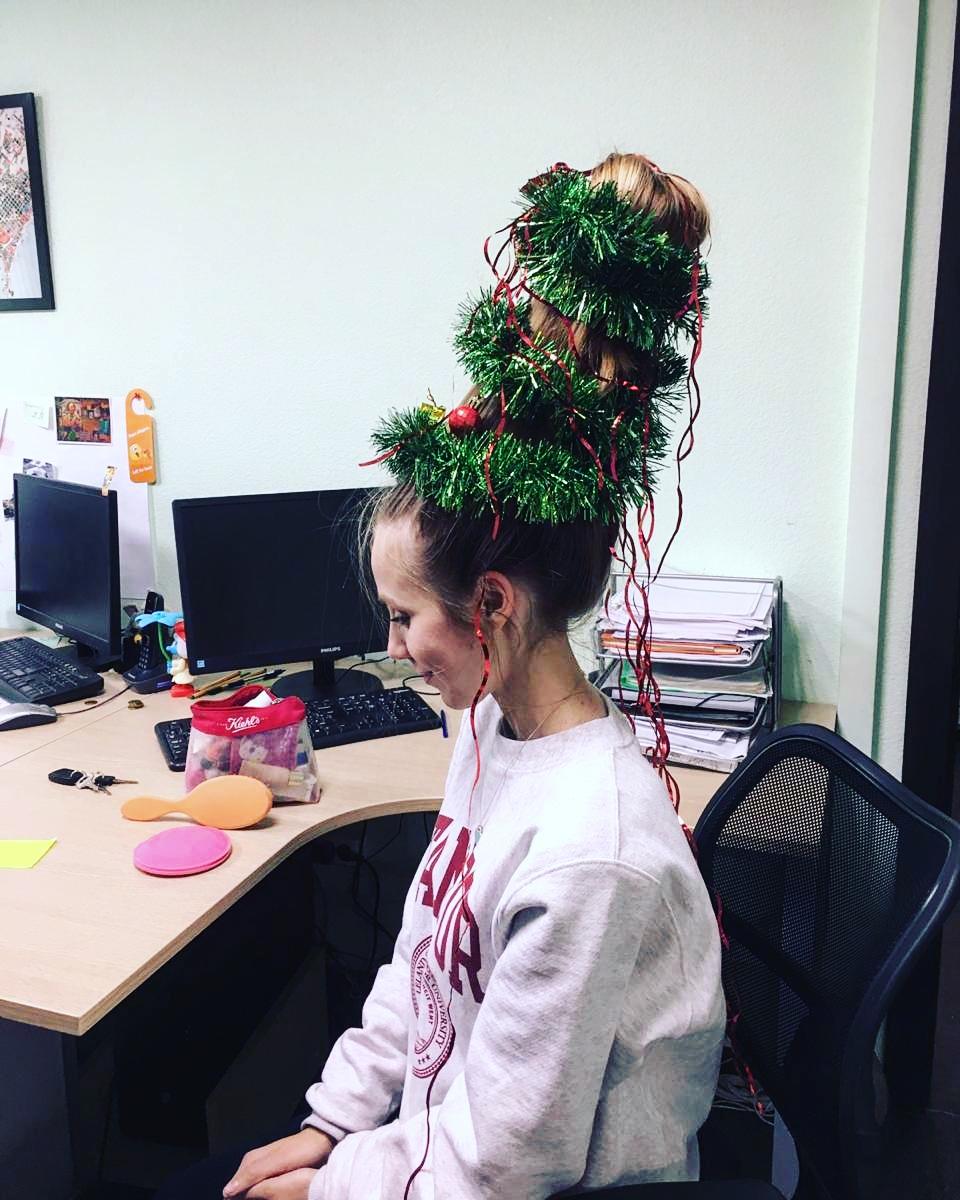 Организация ООО «ПроектГрад» разработала эскизный проект новогодней елочки